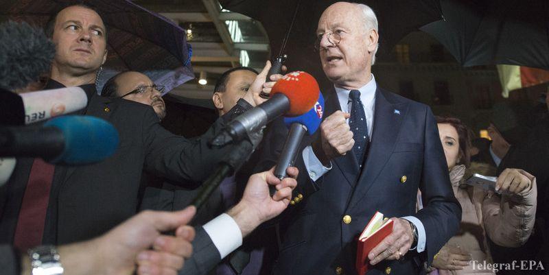 UN envoy puts Syria peace talks on hold