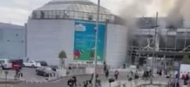 Два взрыва разнесли аэропорт Брюсселя: есть десятки жертв (Видео)