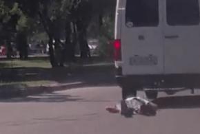 Бессмертный пешеход или «запорожский терминатор» (Видео)