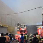 Пожар на складе в Москве: 16 погибших