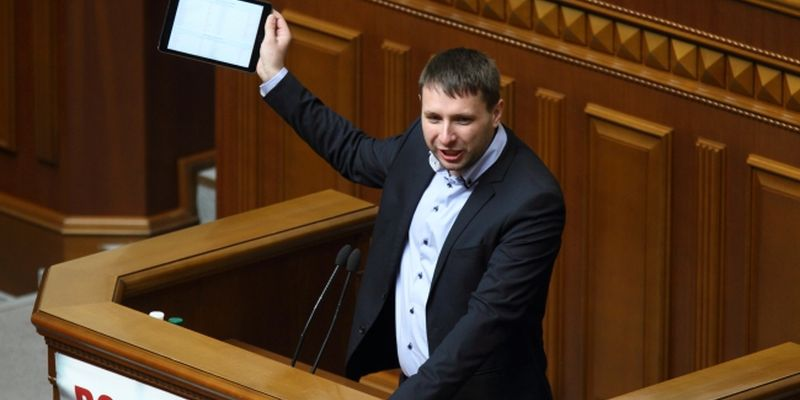 Deputy of the Verkhovna Rada of Ukraine Volodymyr Parasyuk