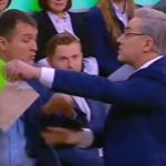 В РФ телеведущий обозвал украинского эксперта «бараном» и выгнал из студии