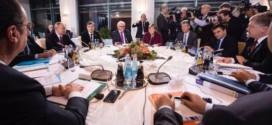 На переговорах в Берлине только Порошенко и Путин не пили вино
