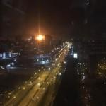 В России загорелся пороховой завод (Видео)