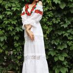 Вышитое платье на ukrglamour.com.ua