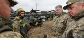 Порошенко: танки ВСУ в Донбассе находятся в полной боевой готовности
