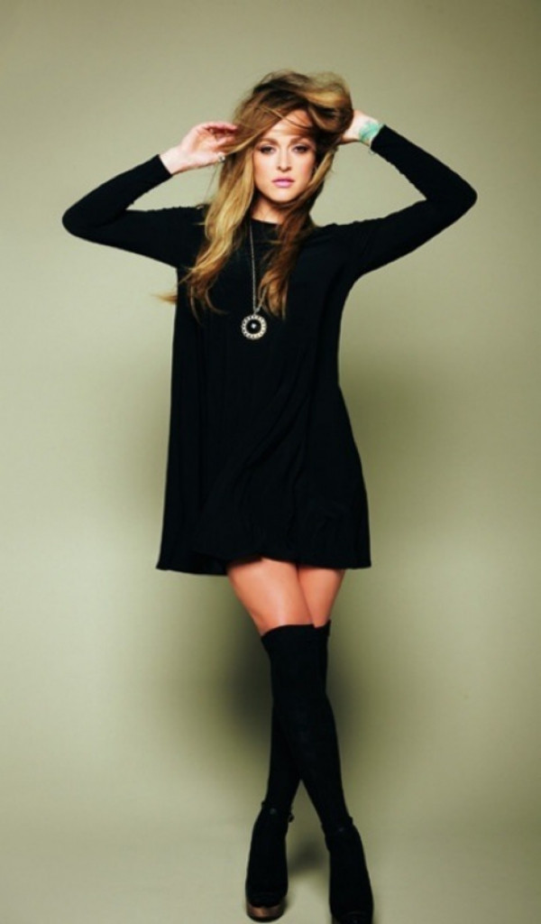 Black Dress With Thigh High Socks 1000 Images About Thigh High Socks On Pinterest Thigh High
